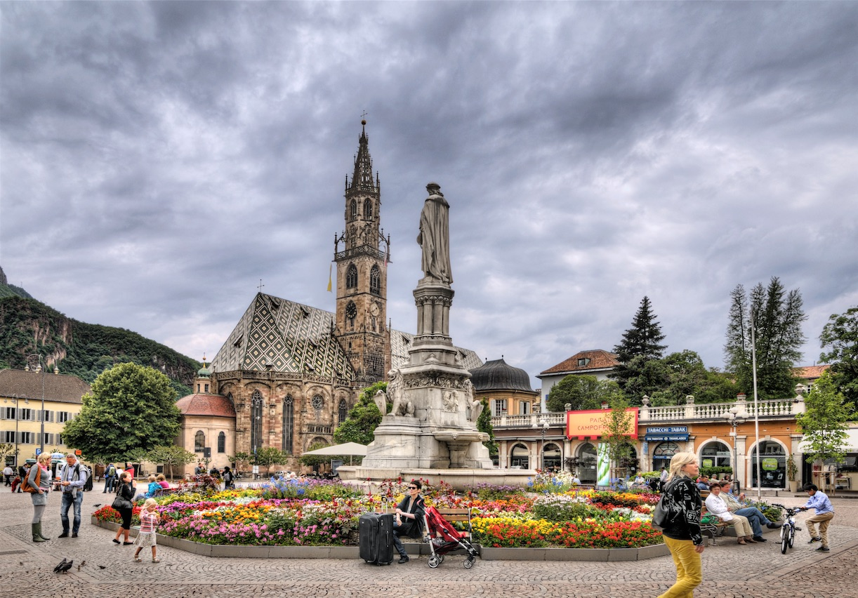 Photo provided by the Bolzano Tourist Board - Link: http://www.bolzano-bozen.it/en/bolzano.htm